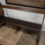 church bench