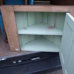 pine hanging corner unit